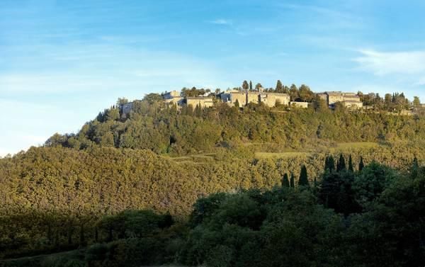 Hotel Monteverdi in the Italian region of Val d'Orcia