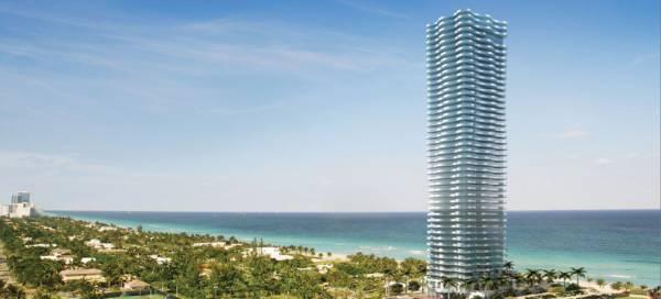 В Майами представили фешенебельный небоскреб для миллиардеров