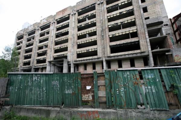 На Харьковщине ликвидируют объекты незавершенного строительства