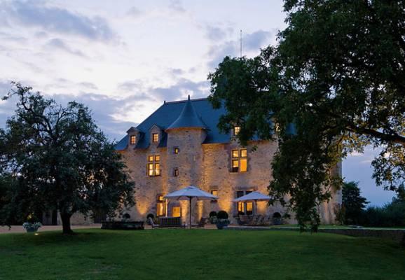 Інтер'єр замку 11 ст у Франції