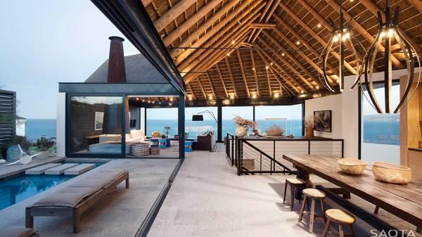 Оригинальный загородный дом в ЮАР
